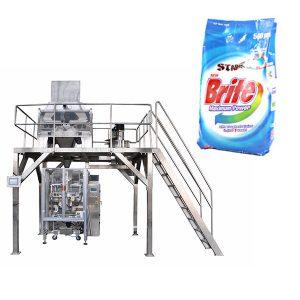 4-leder lineær vægter vaskepulver vaskemiddel pulverpakning maskine