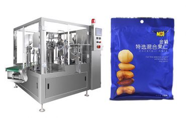 præfabrikerede taske mad granulatfyldning forsegling emballage maskine