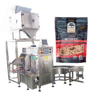 Automatisk påfyldnings- og tætningsmaskine til kaffepulver