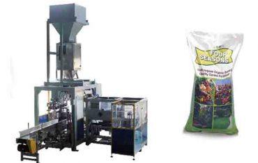 automatisk 50 kg stor taske kemisk gødningsemballage maskine