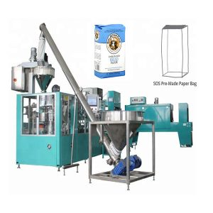 Automatisk præfabrikat papirpose emballeringsmaskine