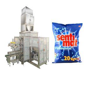 Automatisk Premade Big Bag Packing Machine Rengøringsmiddel Pulver Åben mund Bagger