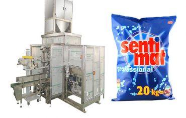 vaskemiddel pulver åben mund bagger premade big bag pakning maskine