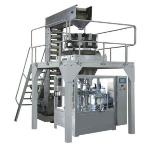 Automatisk Premade Granule Vejning Fyldning og forsegling produktionslinje