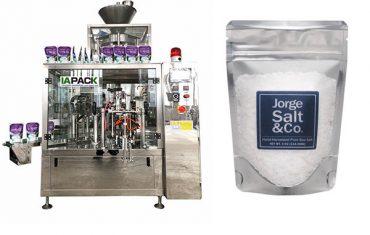 Automatisk roterende præmade taske givet emballage maskine