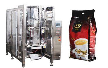 kaffe quad taske form fyldning forsegling emballage maskine