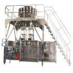Vandret præfabrikat pakkemaskine med multihead vejer