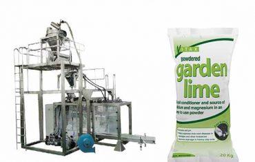kalk pulver stor taske pakning maskine