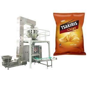 Kartoffelchips Emballeringsmaskine