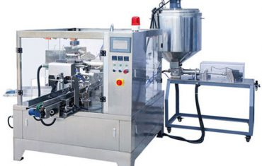 Automatic premade pouch liquid &paste packing machine