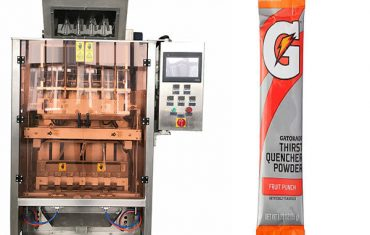 små poser powde multi-line pakning maskine