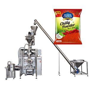VFFS Bagger Packing Machine med Auger Filler til Paprika og Chilli Food pulver