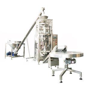 Vertikal Form Fill Seal Machine Med Volumetrisk Cup For Granuler