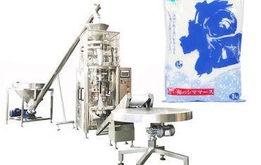 Salt lodret formfyldning tætningsmaskine med volumetrisk kop