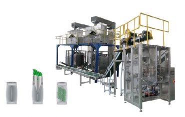vertikal emballage maskine sekundær pakning linje
