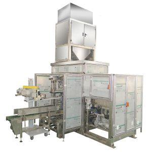 ZTCK-25 Automatisk Bag Feeding Packing Machine, vævet taske emballage maskine