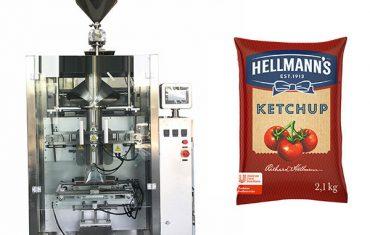 500g-2kg ketchup saucer emballage maskine