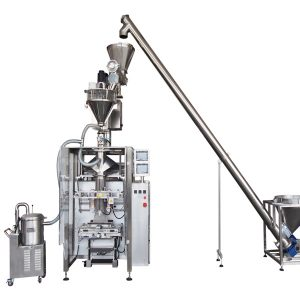 pulveremballage maskine med skruerfiller